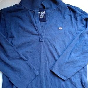 NWOT light sweatshirt. Gorgeous royal blue.